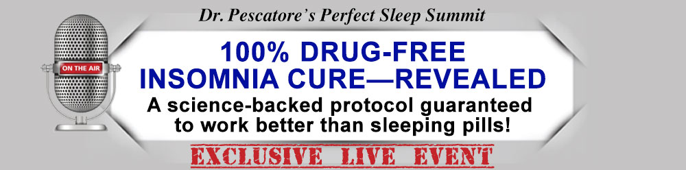 Dr. Pescatore's Perfect Sleep Solution